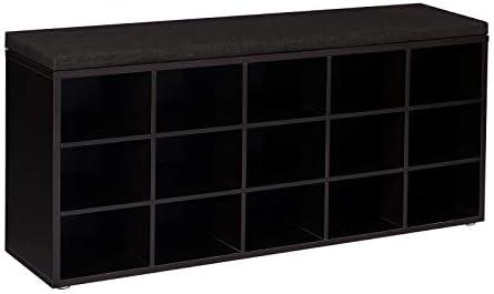 VASAGLE Cushion 15 Cube Espresso ULHS15BR product image