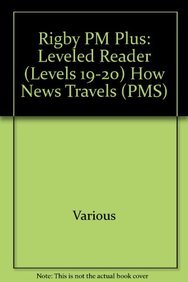 Download Rigby PM Plus: Individual Student Edition Purple (19-20) How News Travels pdf