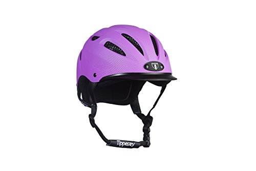 Purple Riding Helmet - 5