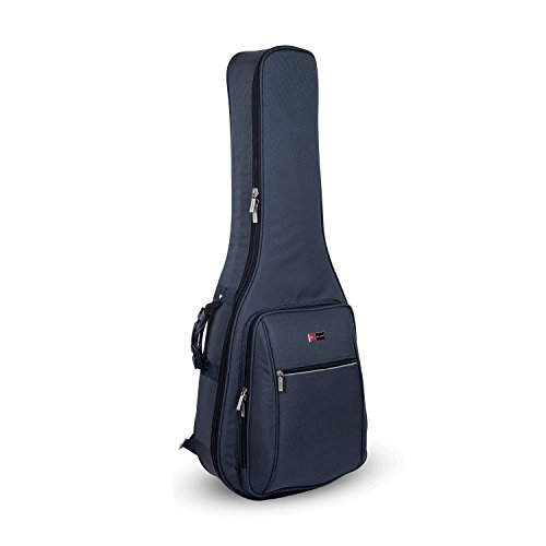 Crossrock CRDG105CGY Case Deluxe Classical Guitar Gig Bag, Grey ()