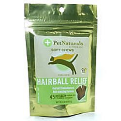 Pet Naturals of Vermont Hairball Soft Chews For Cats Chicken Liver Flavored – 45 Ea, Pack of 8, My Pet Supplies