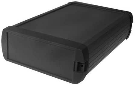 Caja de aluminio – negro – 190 x 122 x 47 mm: Amazon.es: Bricolaje y herramientas