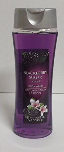 Blackberry Sugar Scented Body Wash, 14.7 fl oz. (Softsoap Spa)