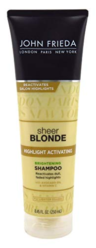 John Frieda sheer blonde Highlight Activating Enhancing Shampoo For Lighter Blondes 8.45 oz (Pack of 3) ()