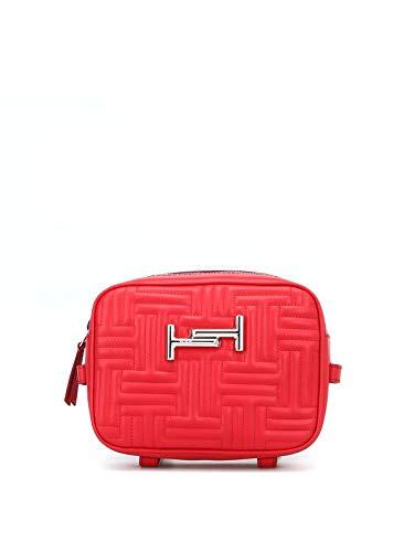 Sac à bandoulière pour femmes Tod's Xawampmt400rlxr401 en cuir rouge