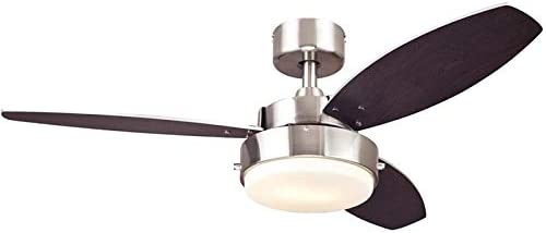 Ciata Lighting 42-Inch Alloy Indoor Ceiling Fan