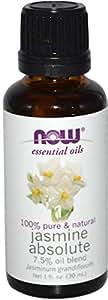 Now Foods, Essential Oils, Jasmine Absolute, 1 fl oz (30 ml)