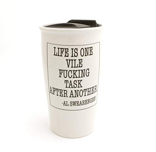 Mature Deadwood Mug - Al Swearegen Quote