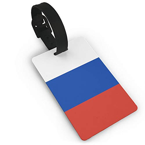 Sheery Russian Flag Luggage Tags Business Card Holder Travel ID Bag Tag