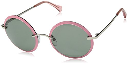Zac-by-Zac-Posen-Womens-Dido-Round-Sunglasses-Pink-58-mm