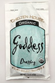 Chelten House Organic Goddess Dressing, 1.5-Ounce Single Serve Pouches (Pack of 60)