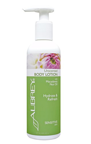 Aubrey Organics Unscented Body Lotion * All Natural Moisturizer * Gluten Free With NO COMPETING SCENT - 8oz