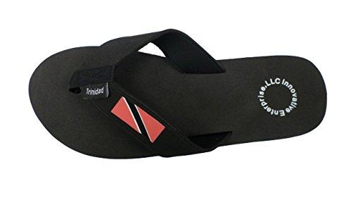 Män Och Kvinnor Trinidad Flip Flop Sandal Svart