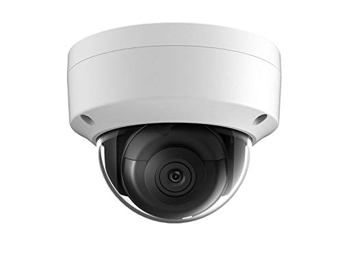 Hikvision 5MP PoE Dome Camera, DS-2CD2155FWD-IS 2.8mm, IP67 ONVIF H.265, 30m Night Vision, Audio Network Dome Camera, English Version (2.8mm)