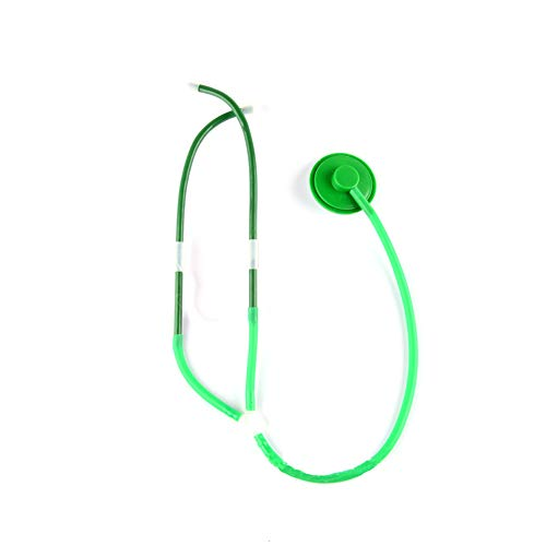DierCosy Nurse Stethoscope Halloween Role Play Cosplay Costume Props Adults Nurse Accessories Halloween Party Supplies(1piece Green) Halloween Decorations ()