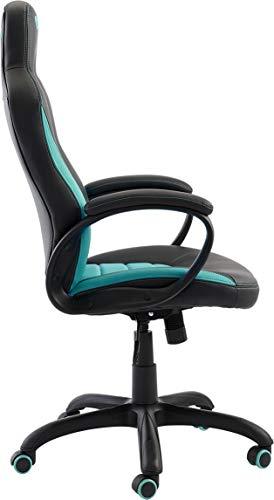 Nacon Silla de Gaming, Piel Sintética, Negro y Azul, 78.5x32.5x66 cm: Nacon: Amazon.es: Hogar