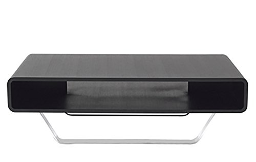 New Spec Modern Style Cota Rectangular Coffee Table with Storage Cubbie, - Style Specs New