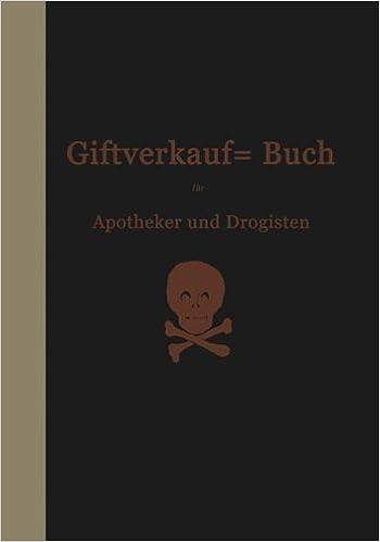 Book Vorschriften ????ber den Handel mit Giften im Deutschen Reiche: Beschl????sse des Bundesrats und Einf????hrungsverordnungen der Einzelstaaten (German Edition) by Hermann B????ttger (1906-01-01)