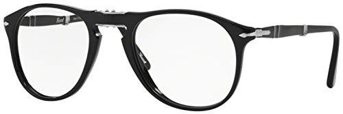 Persol PO9714VM Eyeglasses Black 52 (Persol 9714)
