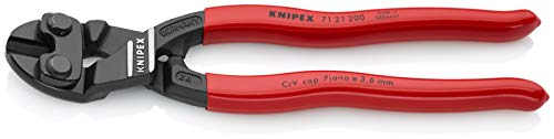 KNIPEX 71 21 200 Angeled High Leverage CoBolt Cutters ()