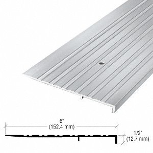 6'' Aluminum Ramp Threshold - 73'' Length by CR Laurence