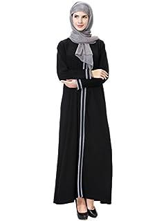 Meijunter Vestido de Mujer Musulmana - Traje Árabe Dubai ...