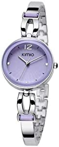 Kimio Purple Dial Crystal Accent Watch [500300]