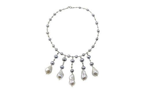 Freshwater Grey Pearl...