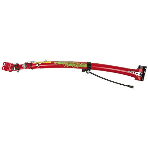 (Trail-Gator Children's Trailer Tow Bar (Red) (Renewed) )