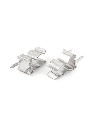 10Pcs Fuse Holder Clips 5X20mm Mounting PCB Brass Tin Plate Littlefuse SCHURTER ()