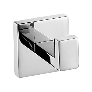 Charmant Leyden Wall Mount Kitchen Chrome Finish Stainless Steel Material Single Robe  Hooks