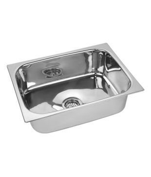 Buy VML Kitchen Sink- 24x18x9 - SS202 Grade Online at Low Prices ...