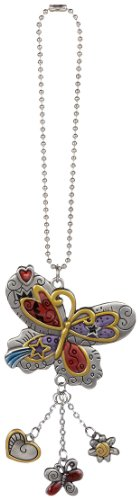 - Ganz Car Charm Colored Butterfly