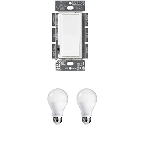 Amazon.com: Lutron Diva Regulador + Phillips 2 Pack ...