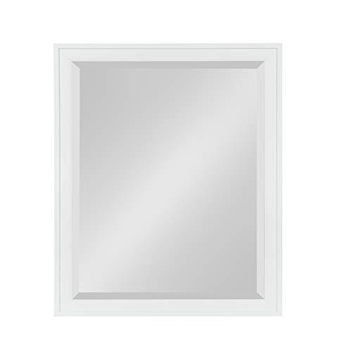 DesignOvation Bosc Framed Wall Mirror, 25.5x31.5, -
