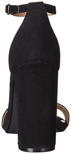 sandali tacco 80 donna steve madden camoscio colore nero