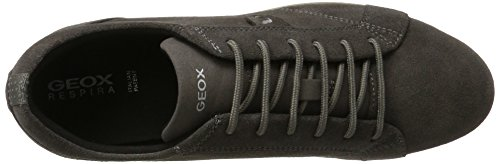 Geox Women's D Avery B Low-Top Sneakers Grey (Dk Grey C9002) CoSlYoIS1S