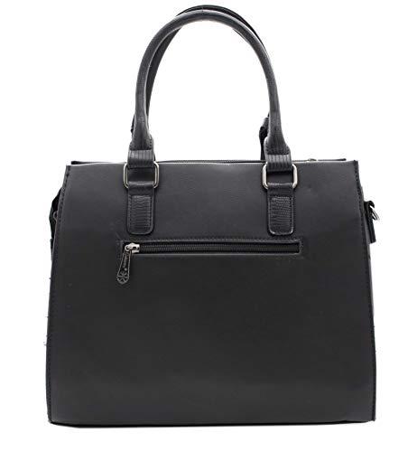 Borsa Tote Mode Hello Nero Donna Vogue amp; Blu By Bag y414XO