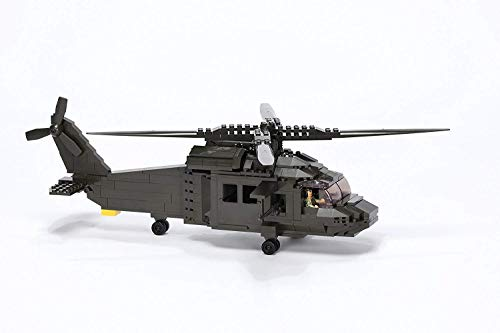 Ultimate Soldier Multi Role Helicopter Military Building Kit, Green
