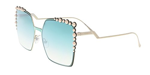 Fendi-Sunglasses-0259S-01ED-With-Green-Yellow-Lens