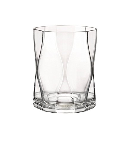 Bormioli Rocco Nettuno Double Old Fashioned Glasses, Set of
