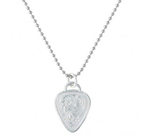 Montana Silversmiths Western Guitar Pick Necklace (NC2675)
