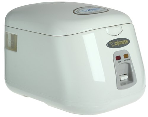 Zojirushi NS-PC10 Electric 5-Cup (Uncooked) Rice Cooker and Warmer, 1.0-Liter