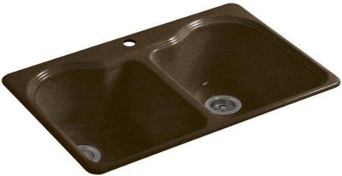 Kohler K-5818-1-KA Hartland Self-Rimming Kitchen Sink wit...