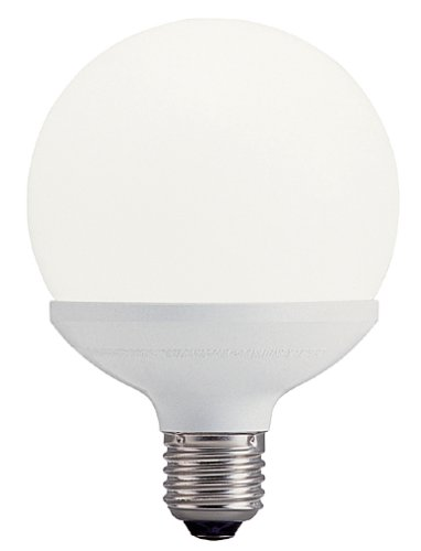 Capsule Compact Fluorescent Light Bulb (Panasonic EFG15E28 Capsule Collection 15W Compact Fluorescent Lamp (Globe Shape))