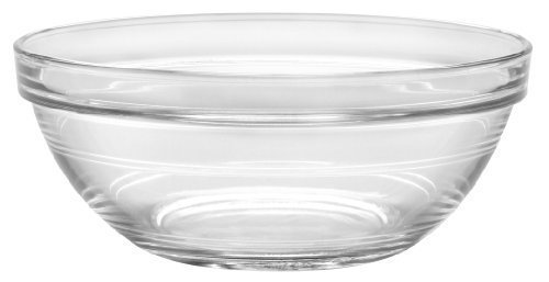 Duralex - Lys Stackable Clear Bowl 17 cm (6 3/4 in)Set Of 6