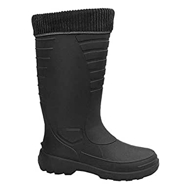 Amazon.com | Lemigo Men's Winter Boots (6, Black) | Boots