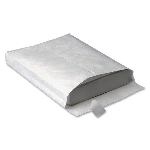 White Expansion Envelopes End Plain (Wholesale CASE of 3 - Quality Park Tyvek Open-End Expansion Envelopes-Tyvek Open-End Envelope,Plain,10