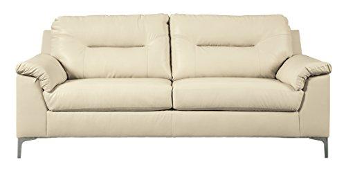 Sofa Ice - Ashley Furniture Signature Design - Tensas Contemporary Upholstered Sofa - Ice