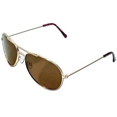 Panama Jack Polarized Pilot Aviator Sunglasses (Rose Gold) ()